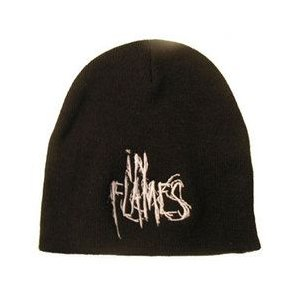 IN FLAMES ニット帽 STACKED LOGO正規品|rockyou