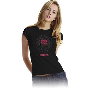THE KILLERS  Tシャツ レディースサイズ SUNNY HEARTBURST 正規品|rockyou