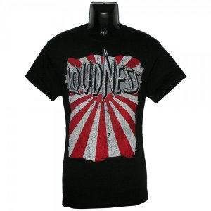 LOUDNESS Tシャツ THUNDER IN THE EAST 正規品 バンドTシャツ|rockyou