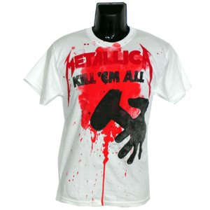 METALLICA Tシャツ KILL EM ALL SPLATTER 正規品|rockyou