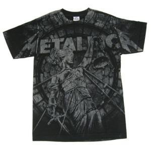METALLICA Tシャツ STONE JUSTICE 正規品バンドTシャツ ロックTシャツ|rockyou