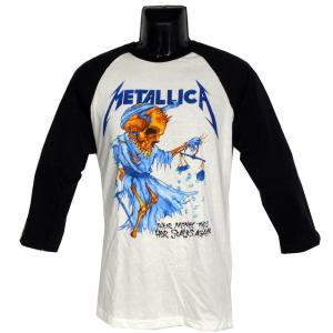 METALLICA  ラグランTシャツ DORIS RAGLAN 正規品|rockyou