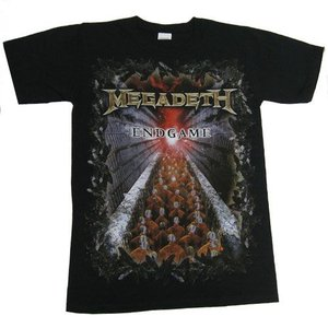 MEGADETH Tシャツ ENDGAME COVER 正規品|rockyou
