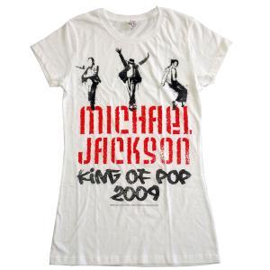 MICHAEL JACKSON  Tシャツ レディースサイズ GRAFFITI 正規品|rockyou