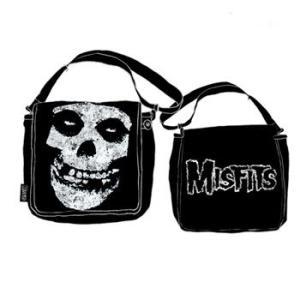 MISFITS メッセンジャーバッグ SKULL & LOGO 正規品|rockyou
