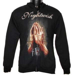NIGHTWISH パーカー Prayer Zip Hoodie 正規品バンドパーカー メタルパーカー|rockyou