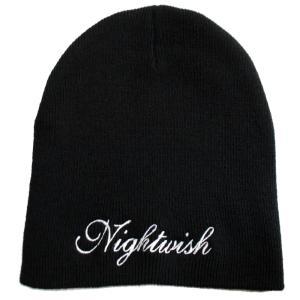 NIGHTWISH ナイトウィッシュ ニット帽 Logo Embroidered 正規品|rockyou