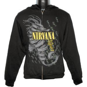 NIRVANA パーカー SEAHORSE 正規品バンドパーカー ロックパーカー|rockyou