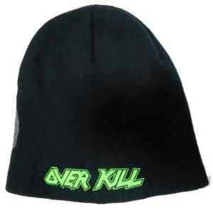OVERKILL ニット帽 Logo and Skull 正規品|rockyou