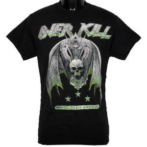 OVERKILL Tシャツ White Devil Armory 正規品バンドTシャツ rockyou