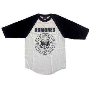 RAMONES ラグランTシャツ PRESIDENTIAL SEAL 正規品バンドTシャツ|rockyou