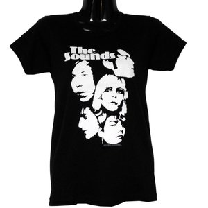 THE SOUNDS Tシャツ レディースサイズ FACES GIRLS TEE 正規品|rockyou