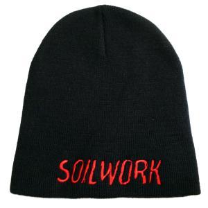 SOILWORK ソイルワーク ニット帽 Embroidered Logo 正規品 rockyou