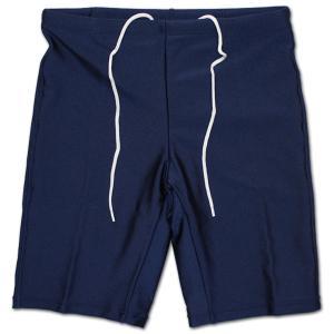男子スクール水着パンツ ネイビー 1729 LL〜3L|roco