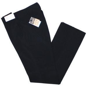富士ヨット学生ズボン D-STYLE(D-スタイル) ノータックサマースラックス GTD2950S  黒 ブラック 丸洗い可 明石スクールユニフォームカンパニー|roco