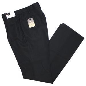 富士ヨット学生ズボン SERIES X(シリーズエックス) ワンタックスラックス GTX4521B 85〜110 ポリエステル100%  黒 ブラック 丸洗い可 明石被服興業 学生服|roco