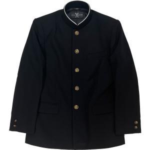 富士ヨット学生服 SERIES X(シリーズエックス) GTX4525T ポリエステル100%  黒 ブラック 丸洗い可 明石スクールユニフォームカンパニー 明石被服興業|roco