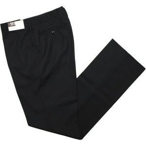富士ヨット学生ズボン SERIES X(シリーズエックス) ノータックスラックス GTX4770B ウール混 ブラック 黒 丸洗い可 明石スクールユニフォームカンパニー|roco