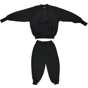 ヒップホップジャケット ヒップホップパンツ 上下セット ブラック n-9191-1919|roco