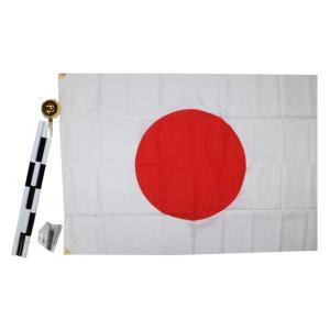 国旗セット テトロン 70×105cm  日の丸セット|roco