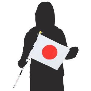 日本国旗セット 手旗 約32cm×約23cm 日の丸|roco|02