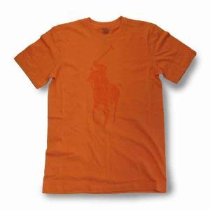 PoloRalphLauren(ラルフローレン)ビッグポニー S/S Tオレンジ|roco