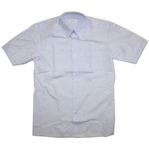 FUJI YACHT(富士ヨット) 空気触媒加工 メンズ半袖スクールワイシャツ  ホワイト(蛍光白)  150A〜165A 男性用/学校衣料/学生衣料/学生服|roco