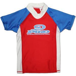 PIKO キッズ用半袖ラッシュガード 78302|roco