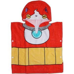 キャラクタータオル 妖怪ウォッチ ジバニャン変身ポンチョタオル 2292631|roco