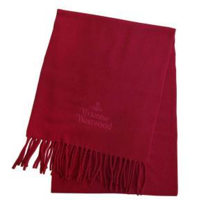 ヴィヴィアンウエストウッド マフラー 2020AW 81030007-11654-H401 RED レッド rocobi