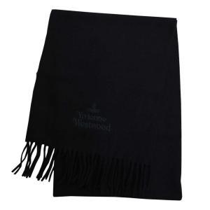 ヴィヴィアンウエストウッド マフラー 2020AW 81030007-11654-N401 BLACK ブラック rocobi