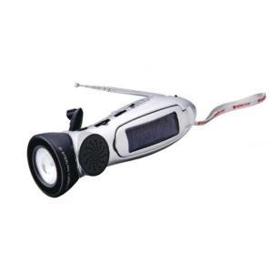 防災 多機能ラジオライト スターリングターボ No 6000 防災グッズ 手回し充電ラジオ LEDランタン 携帯 スマホ 充電器|rocobi