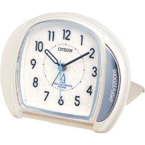 訳あり アウトレット品 シチズン 折り畳み目覚まし時計 トラベル クロック 4GE961-003 マイティ アナログ rocobi