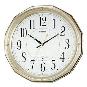 シチズン リズム時計工業 電波壁掛け時計 ネムリーナM08 ...