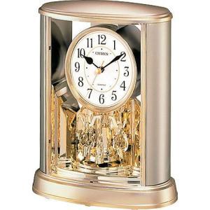 シチズン 置時計 サルーン 4SG724-018 金色 アナログ rocobi