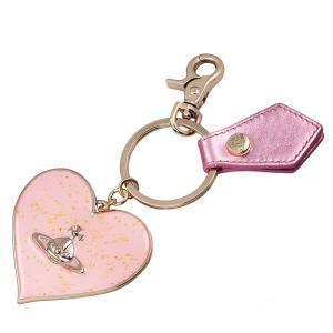 ヴィヴィアン ウエストウッド キーリング MIRROR HEART GADGET 82030008 PINK ピンク 女性用|rocobi