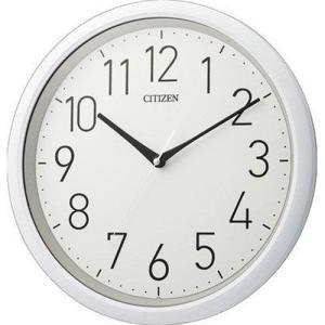 シチズン 防水クオーツ壁掛け時計 8MG799-003 スペイシーアクア799 白 アナログ rocobi