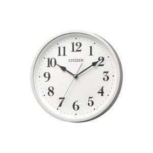 CITIZEN シチズン 電波時計 壁掛け 8MYA42-003 掛置き兼用 連続秒針 ホワイト 白 アナログ rocobi