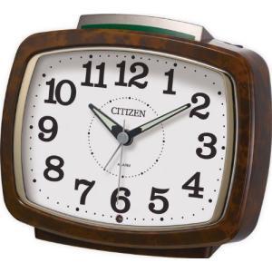 シチズン リズム時計工業 クォーツめざまし時計 サイレントミ...