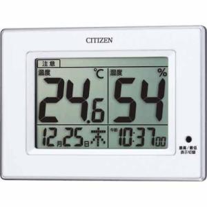 シチズン 高精度温度計 湿度計 8RD200-A03 デジタル ライフナビD200A|rocobi