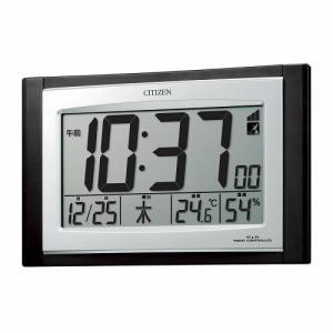 シチズン パルデジットコンビR096電波時計 壁掛け時計 置き兼用時計 8RZ096-023 デジタル rocobi