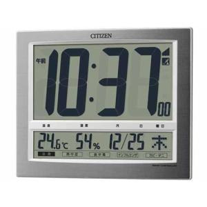 シチズン 電波時計 壁掛け時計 パルデジットワイド140 8RZ140-019 デジタル|rocobi