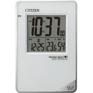 リズム時計工業 CITIZEN シチズン 電波目覚まし時計 ...