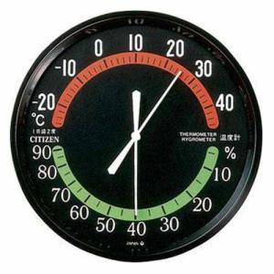 シチズン 9CZ013-002 アナログ式温湿度計 TM42-3 (コ)|rocobi