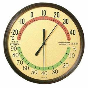 シチズン 9CZ013-006 アナログ式温湿度計 TM42-2|rocobi