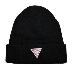 GUESS ゲス ニット帽 ニットキャップ AI4A8858DS_BLK ブラック メンズ レディース 男性用 女性用|rocobi