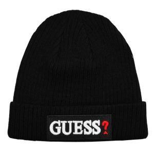 GUESS ゲス ニット帽 ニットキャップ AI4A8859DS_BLK ブラック メンズ レディース 男性用 女性用|rocobi