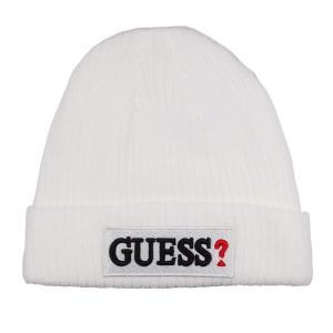 GUESS ゲス ニット帽 ニットキャップ AI4A8859DS_WHT ホワイト メンズ レディース 男性用 女性用|rocobi