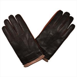 REPLAY リプレイ メンズ レザー手袋 AM6045-000-A3150-115 TAN サイズ:L ダークブラウン 茶色 男性用 ブランド|rocobi