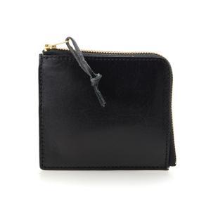 バンタンレザー Lファスナー 財布 ブラック 牛革 黒 (コ)|rocobi